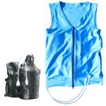 熱中症対策人間エアコンスターターセット【CA3E317i】ボディ冷却着衣ベスト型水冷服(下着)人間エアコンCoolArmor CA3 typeE Blue+CS317i(水循環ポーチ)(2017.6.15以降出荷予定)
