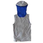 人間エアコンCoolArmor CA2 typeB Glay>Blue 頭部+背中 冷却着衣