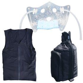 夏マスクコンボ熱中症対策人間エアコン水冷服コンボ